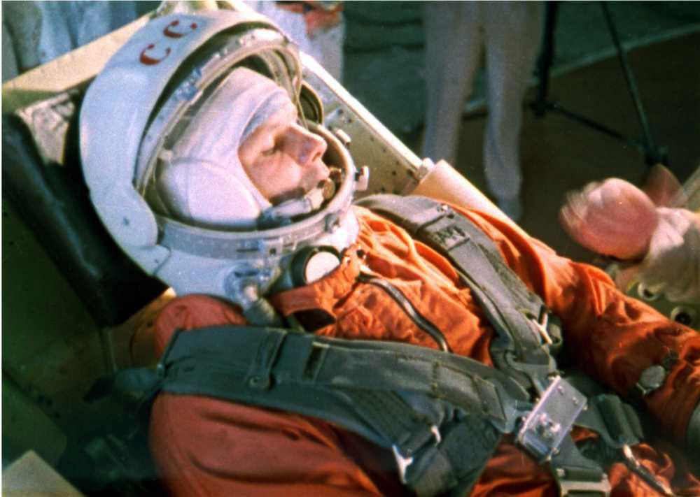 12 avril ... Youri Gagarin et la Strumanskie Gagarin-space12