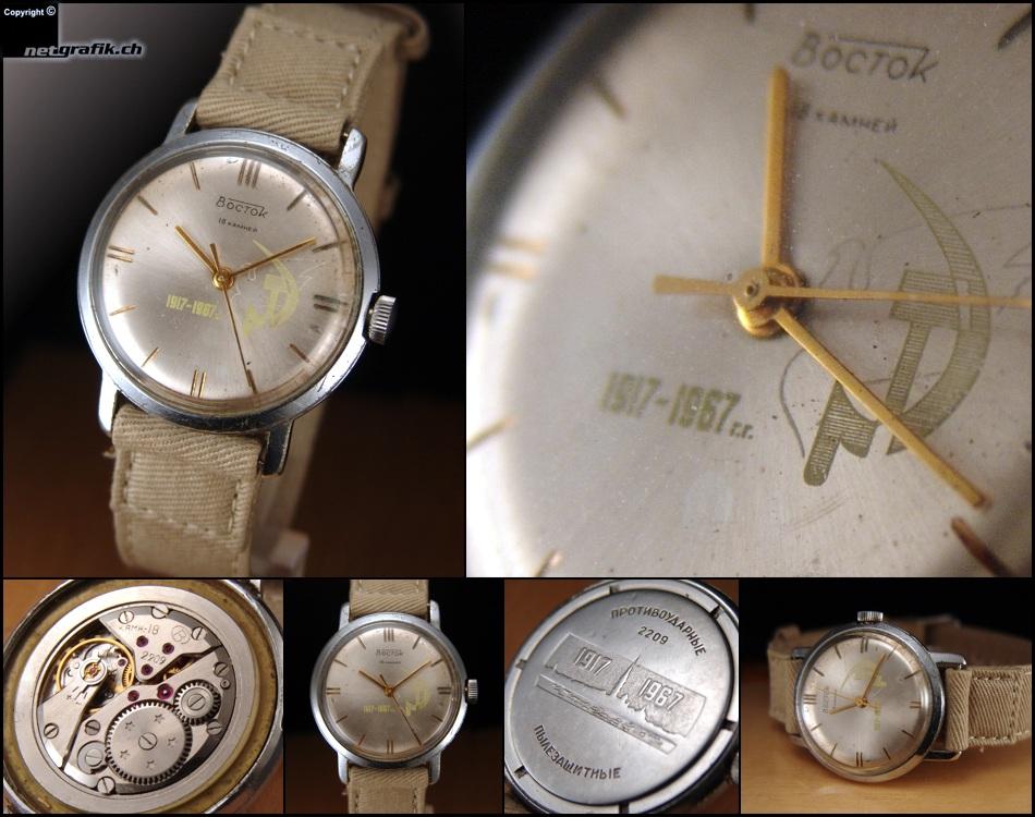 Vostok anniversaire 1917-1987 Vostok1917-1967