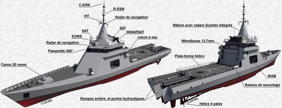 قوات البحرية المغربية تبدي إهتمامها لشراء زوارق دورية فرنسية جديدة Caracter04