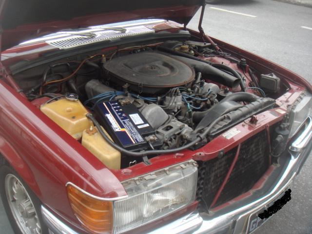 W116 350SE 1979 - R$29.000 A746397