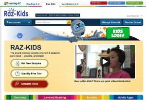 موارد رقمية (تكنولوجية) تجعل عمل المدرسين أكثر فعالية Raz-kids-300x206