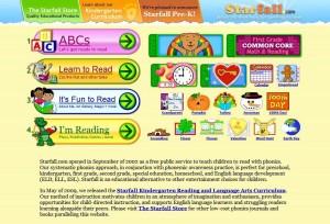 موارد رقمية (تكنولوجية) تجعل عمل المدرسين أكثر فعالية Starfall-300x204