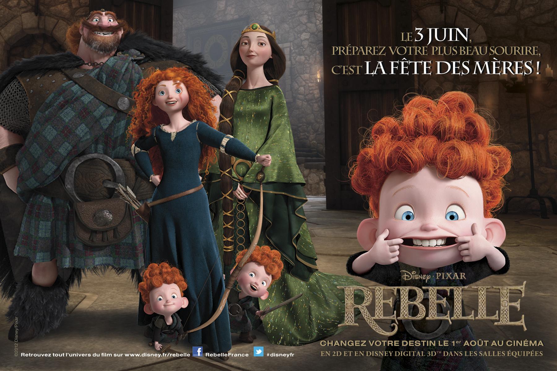 [Pixar] Rebelle (2012) - Sujet de pré-sortie - Page 3 Rebelle_ecard_fetedesmeres_HD
