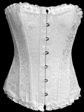 Un serre taille, quels achats ? Corset-gothique-alcatraz-white-angel