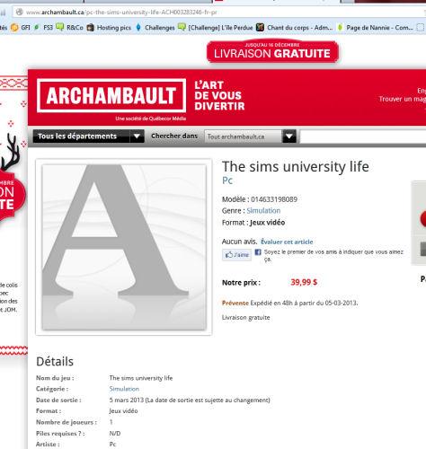Les Sims™ 3 University 276439unipetit