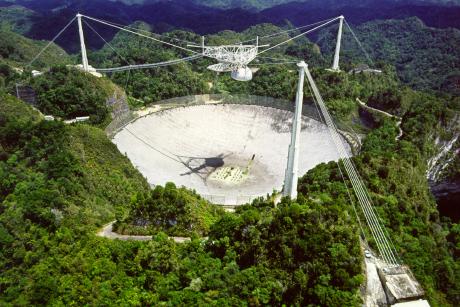 Arecibo captures its first 'fast radio burst' Arecibo7-10a