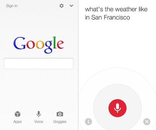 Κυκλοφόρησε το νέο Google Search για iOS Gsearch2