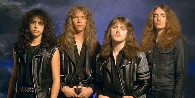 Metallica - Ride the lightning Metallica1984promophoto