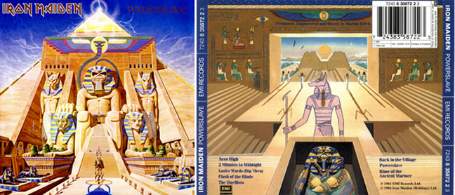 Iron Maiden - Powerslave Maid2