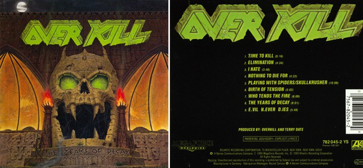Overkill - The Years Of Decay Overk2