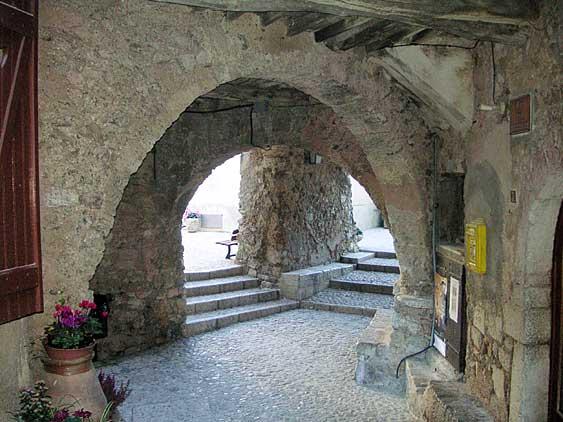 Sainte-Agnès : Le circuit du patrimoine Sainte-Agnes_rue