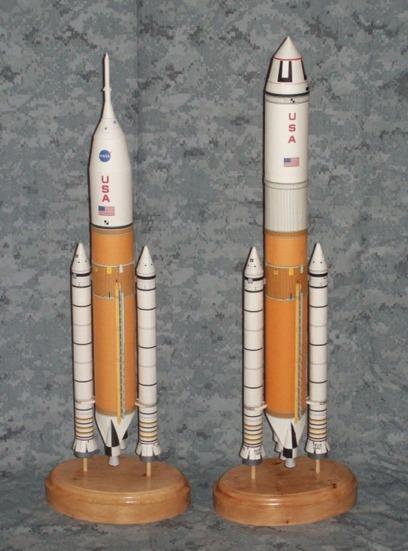 Maquette papier : Jupiter 120 et 232 Direct2