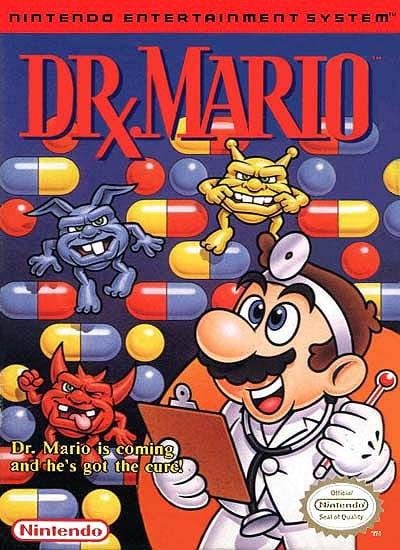 El PRIMER Videojuego que jugaste en tu vida Dr.-Mario