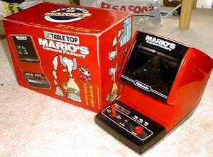 """GAME & WATCH: """"Las grandes pequeñas"""" NintendoMariosCementFactoryBox"""