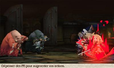 Bravely Default | 3DS Battle-screen-2-1