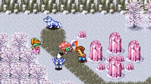 Vos jeux et niveaux où il fait froid préférés - Page 2 Scrn_secretOfMana_ice2