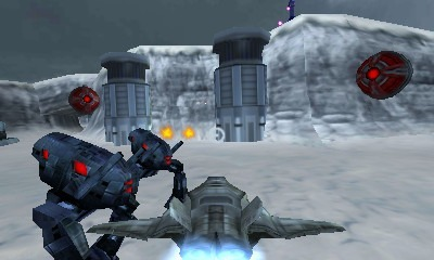 Thorium Wars: Attack of the Skyfighter review (3DS eShop) 1