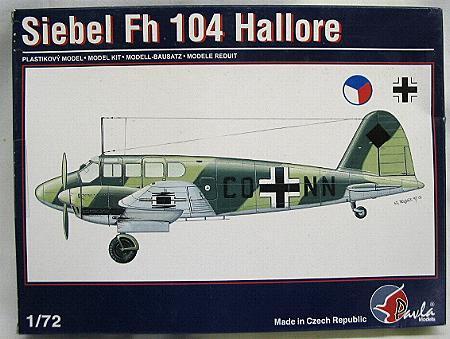 Siebel Fh 104 Hallore i Messer Bf-108, 1:72 Pavla-1-72-siebel-fh-104-hallore-slika-78467255