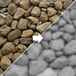 [TUTORIAL] Como criar suas texturas Normal Map, Displacement Map e Bump Map (Photoshop) Displacement