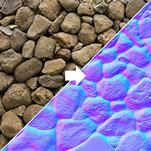 [TUTORIAL] Como criar suas texturas Normal Map, Displacement Map e Bump Map (Photoshop) Nmap%20copy