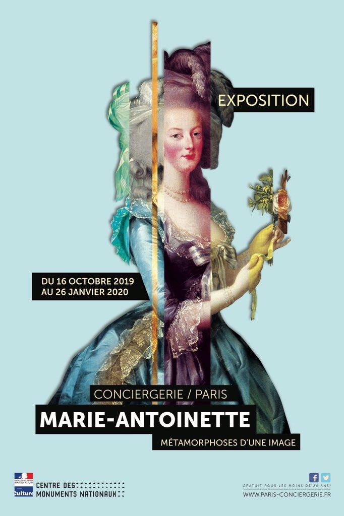 Conciergerie - Exposition à la Conciergerie : Marie-Antoinette, métamorphoses d'une image  D6brVXBWwAAS3Qx