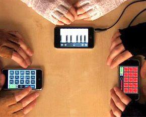 iPhones dão música ao Porto Band