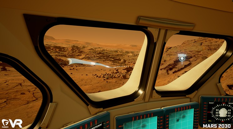 [Experience VR] Mars 2030 Rover3