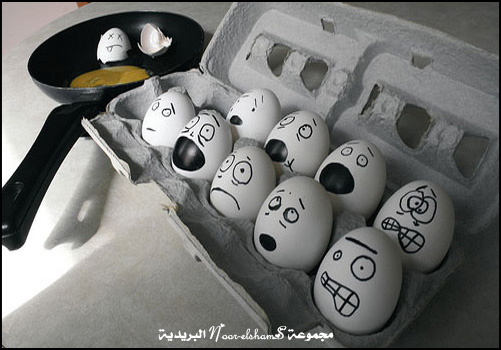 فن الرسم على......؟؟؟ Egg-2