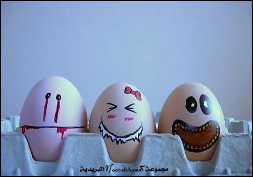 فن الرسم على......؟؟؟ Egg-9