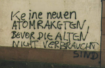 Graffiti Atomraketen