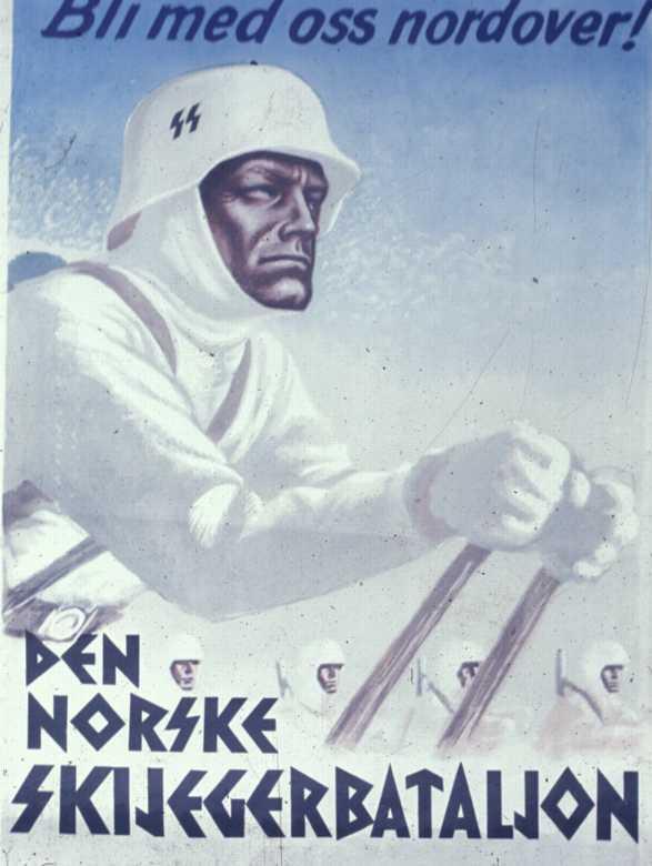 "Норвежский батальон СС ""Норд"" Skijegere"