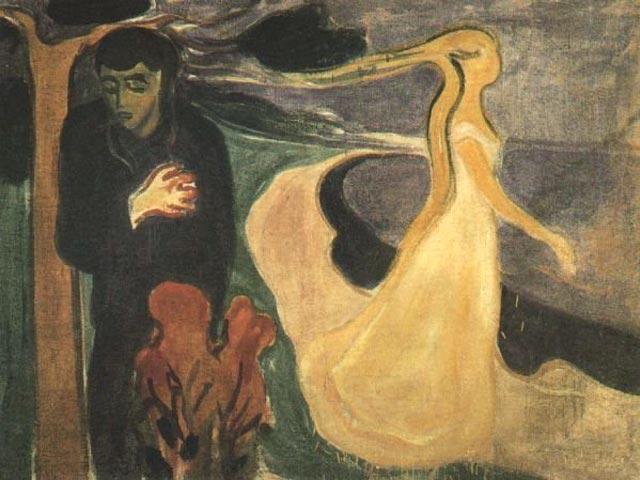 Edvard Munch / Edvard Munk  Afsked_b
