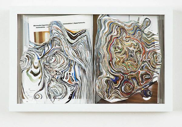 Noriko Ambe (paper sculpture) 2006w0014p01