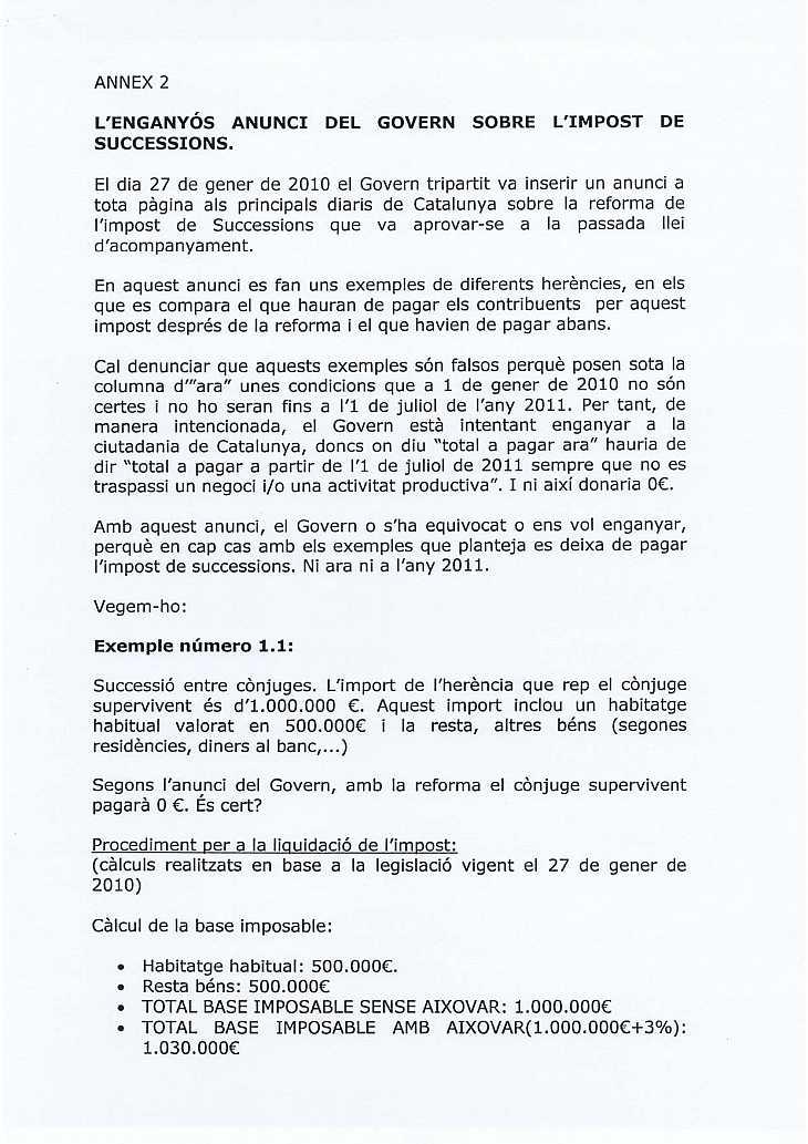 ANUNCI DEL GOVERN A TOTA PLANA A L.V. D3P