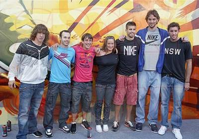 ¿Cuánto mide Pau Gasol? - Estatura y peso - Real height MireiaBelmonte_Nike