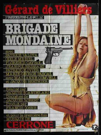 SAS Gérard de Villiers  Brigade-mondaine-affiche_261931_42731
