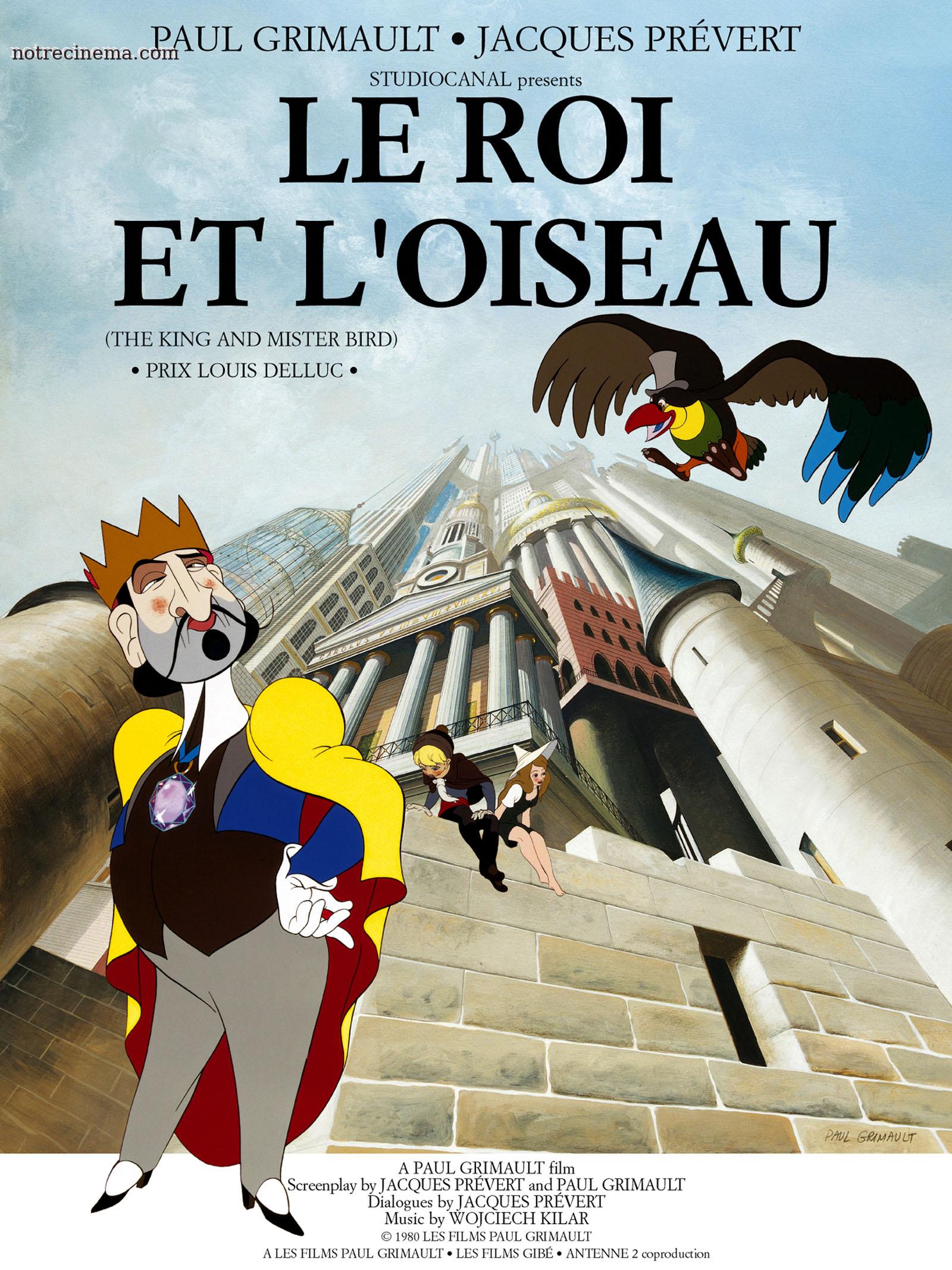 Le Roi et L'Oiseau - Paul Grimault - 1980 Le-roi-et-l-oiseau-wallpaper_330682_20388