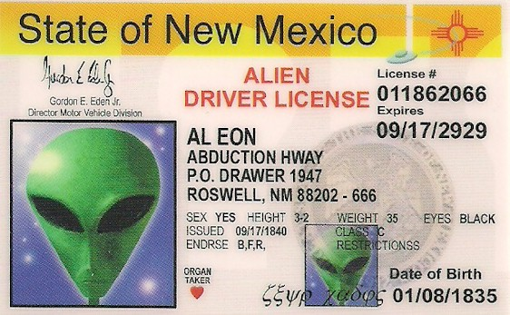 The United States of the Solar System: A.D. 2133 (Book One) - Page 36 Alien_Driver_License