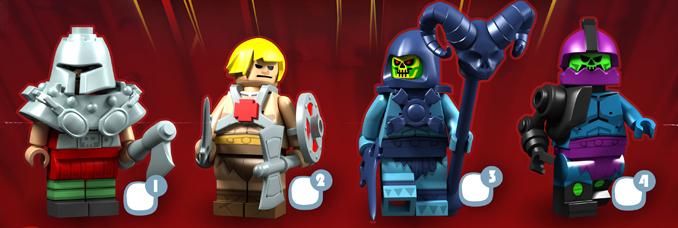 Customs et créations Playmobil et Lego (pas MOC's !) Lego-maitres-univers