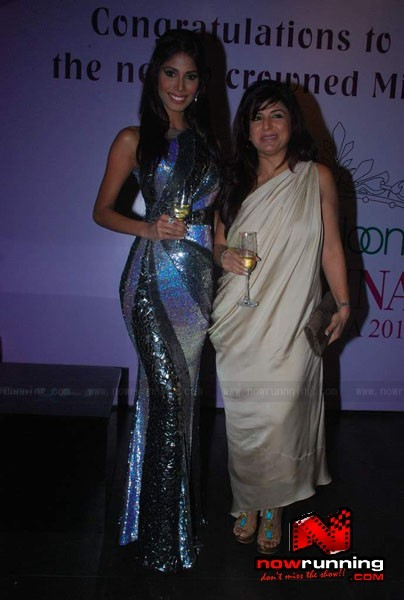 Official thread of MISS EARTH 2010 - Nicole Faria (India) Miss-Earth-Nicole-Faria-welcome-bash-43