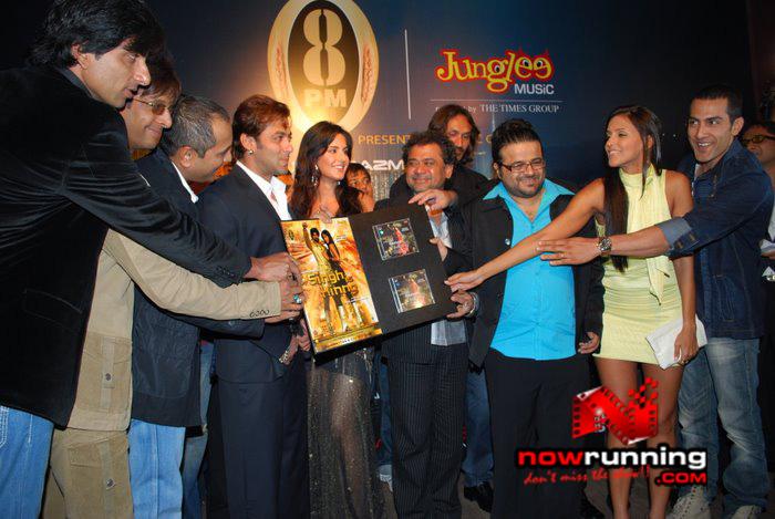 Salman Khan & Katrina unveils Singh Is Kinng music album Singhkinng1
