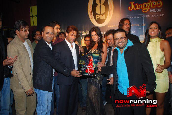 Salman Khan & Katrina unveils Singh Is Kinng music album Singhkinng10