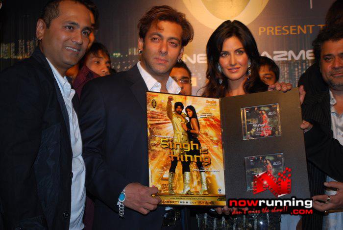 Salman Khan & Katrina unveils Singh Is Kinng music album Singhkinng3