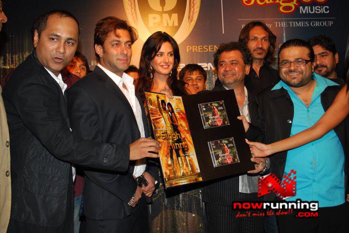 Salman Khan & Katrina unveils Singh Is Kinng music album Singhkinng32