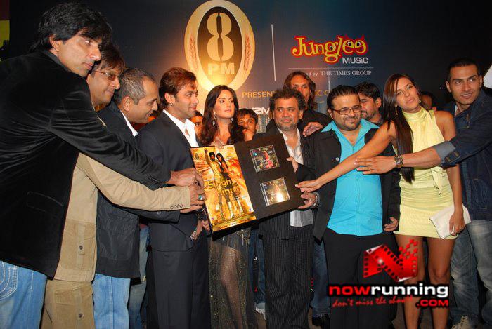 Salman Khan & Katrina unveils Singh Is Kinng music album Singhkinng33