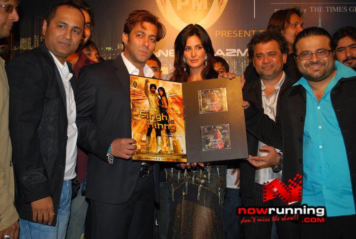 Salman Khan & Katrina unveils Singh Is Kinng music album Singhkinng48