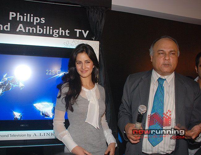 Katrina Unveils Diamond-Encrusted Flat TV Katrina%2010