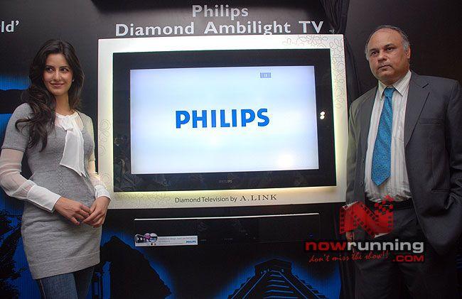 Katrina Unveils Diamond-Encrusted Flat TV Katrina%2012