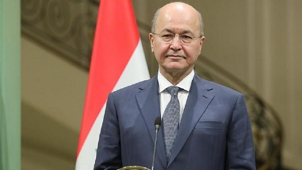 Abdul-Mahdi: I will lift the parliament request for my resignation 291202015504591020192211431792019155250179201914559Barham-Salih