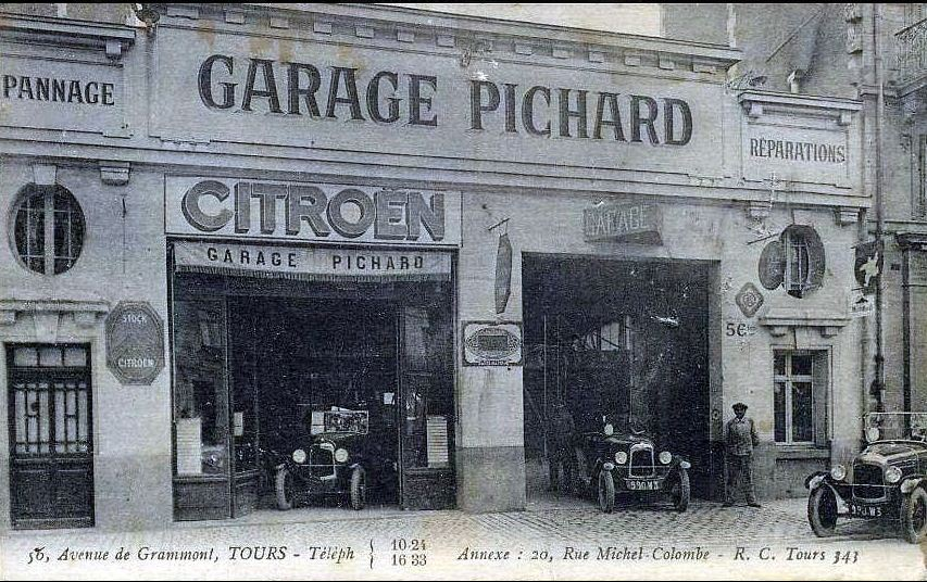 Garages anciens Pichard%20tours